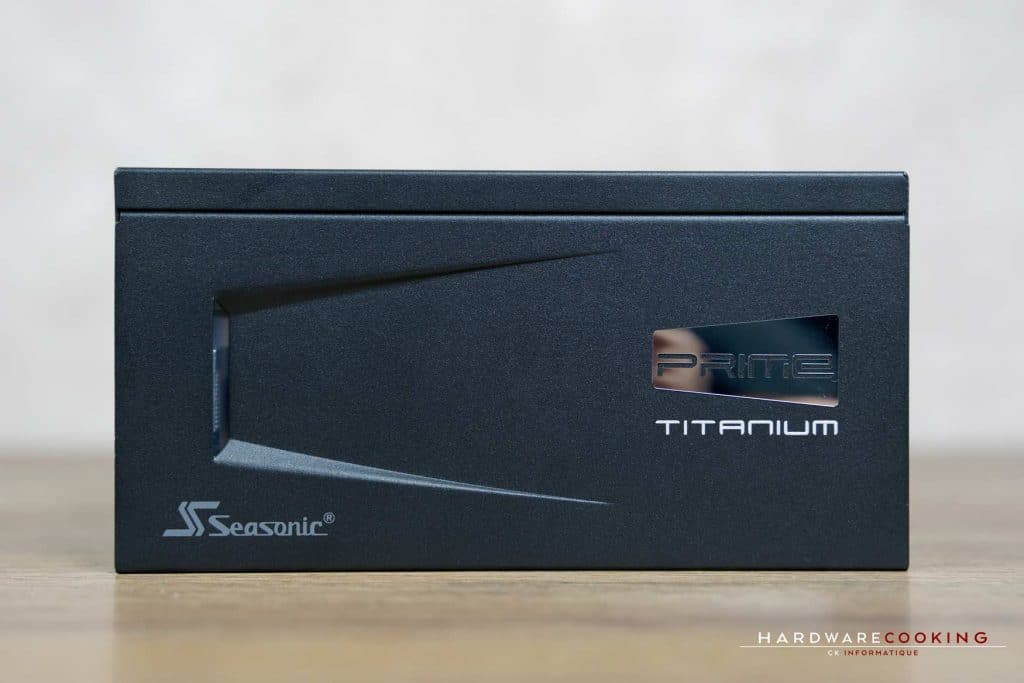 Test alimentation Seasonic Prime Ultra 750W Titanium