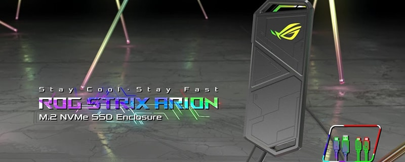 boîtier externe Asus ROG Strix Arion