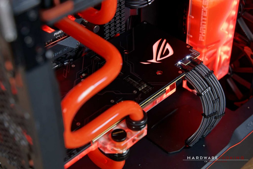 Build ROG X Phanteks par hardwarecooking - CK Informatique