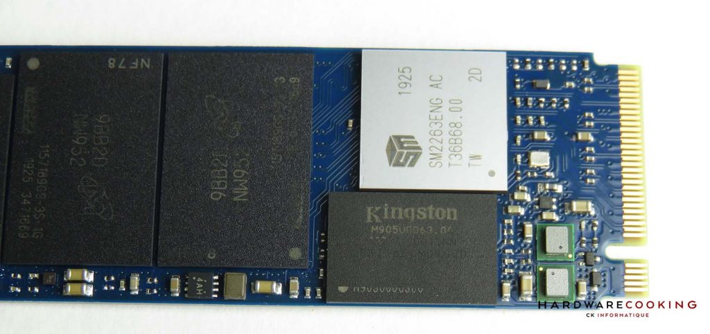 Kingston A2000 1 To SSD détail