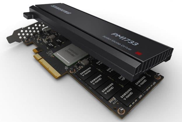 SSD Samsung PM1733 PM1735 PCIe 4.0 PCIe
