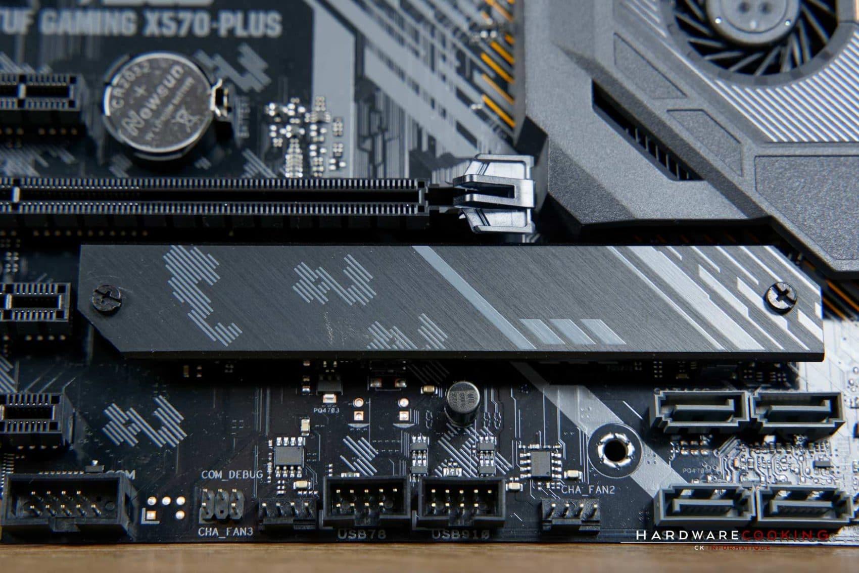 Dissipateur thermique SSD M.2 ASUS TUF