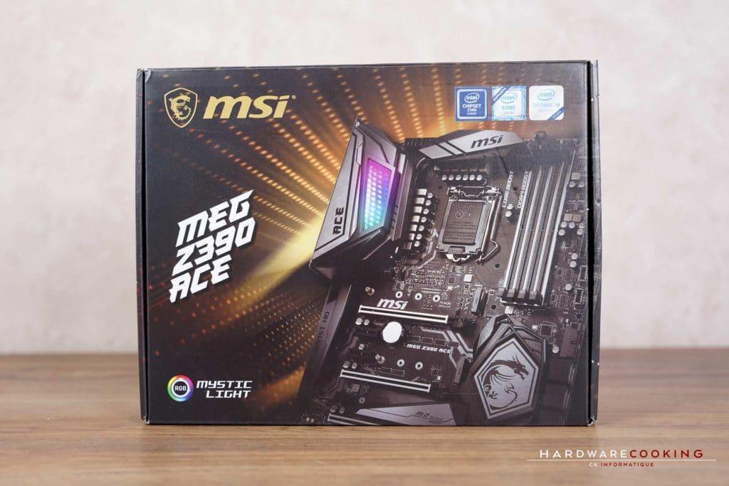 Boîte MSI MEG Z390 ACE