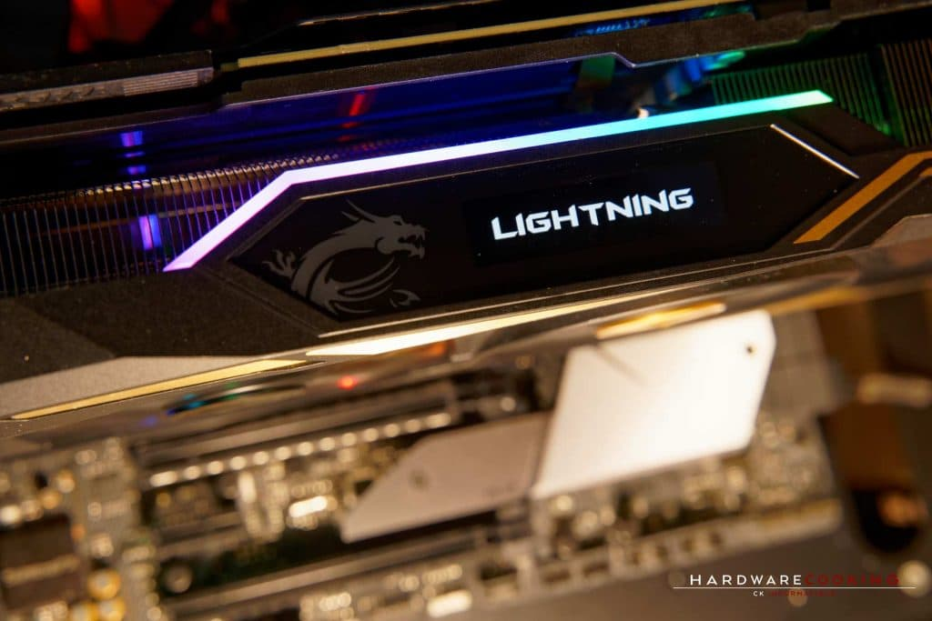 Dynamic Dashboard MSI RTX 2080 Ti Lightning Z