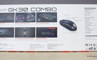 Vigor GK30 Combo packaging