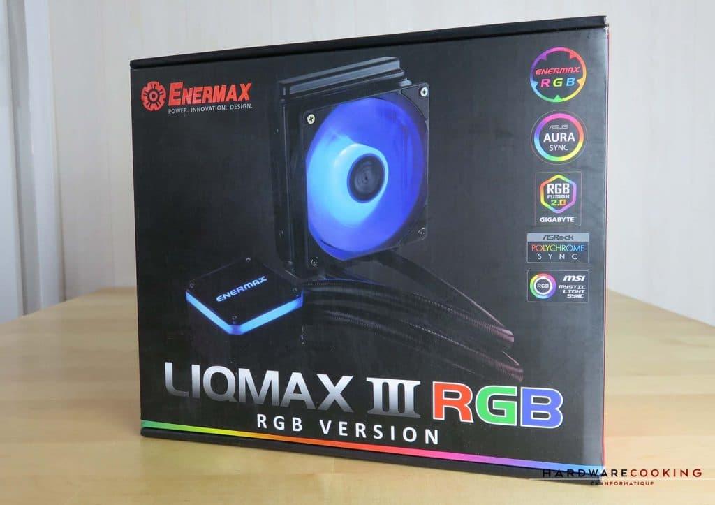 Enermax LiqMax III RGB boite avant