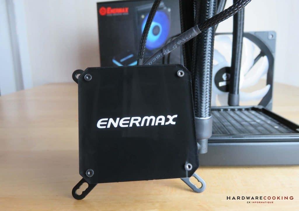 Enermax LiqMax III RGB face pompe