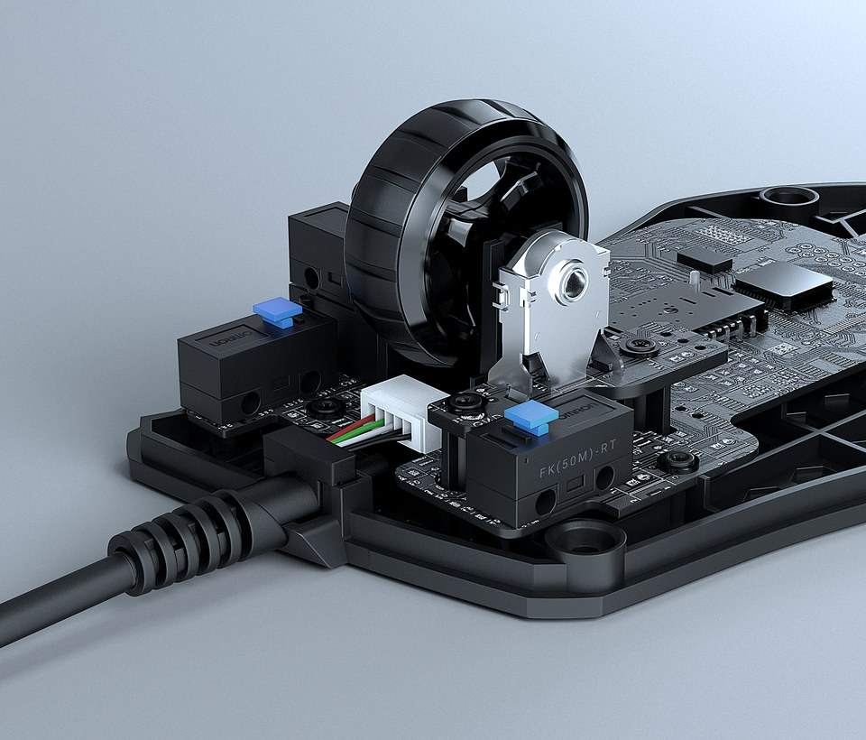 molette 2D Titan Wheel