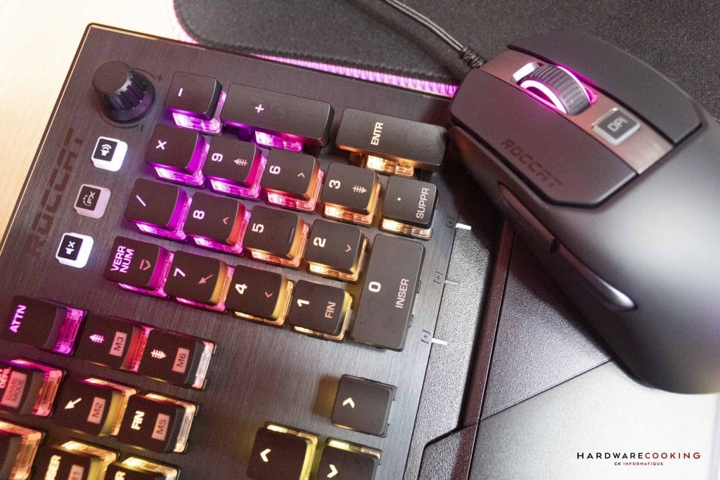 Test Roccat Vulcal 121 AIMO