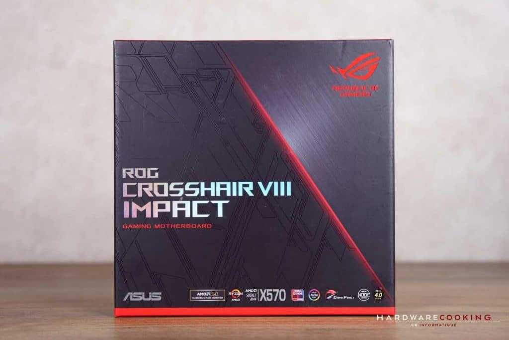 Boîte Test ASUS ROG Crosshair VIII Impact