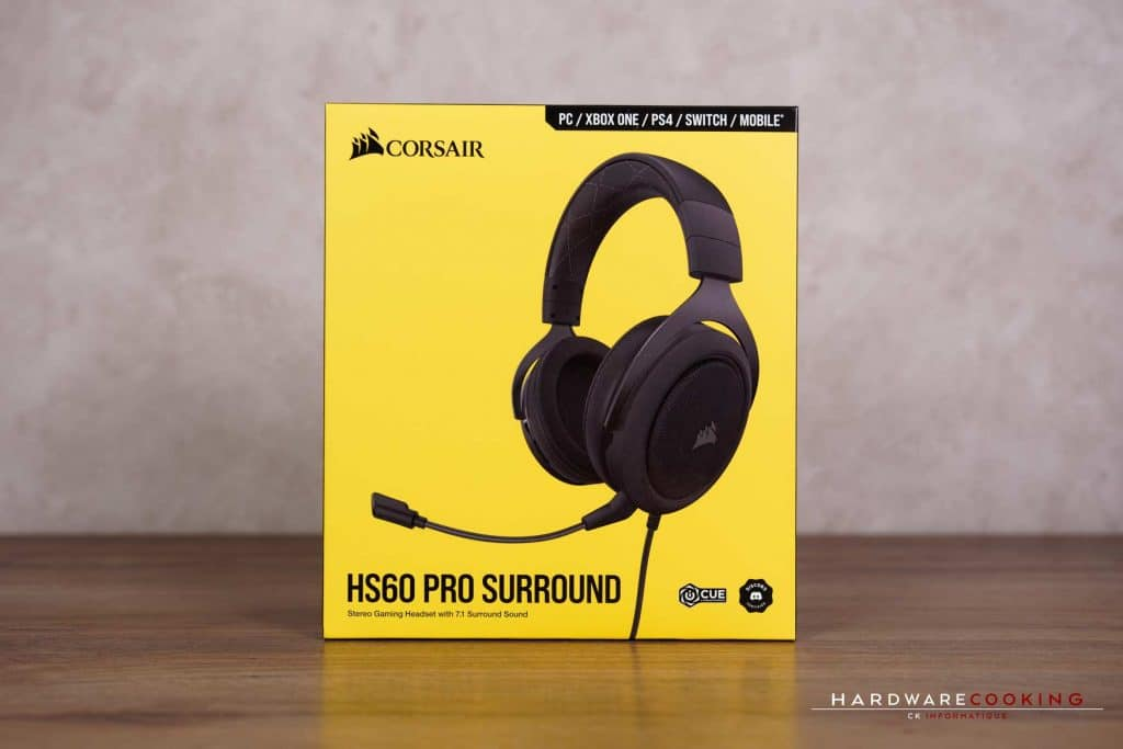 Test casque Corsair HS60 PRO SURROUND