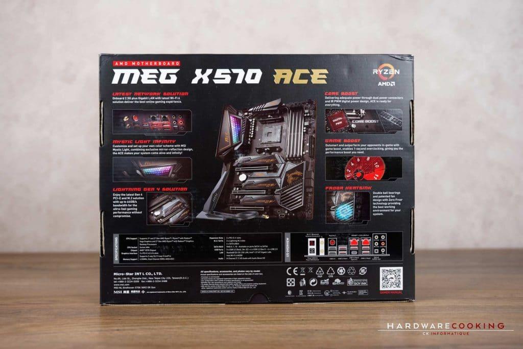 Boîte MSI X570 ACE