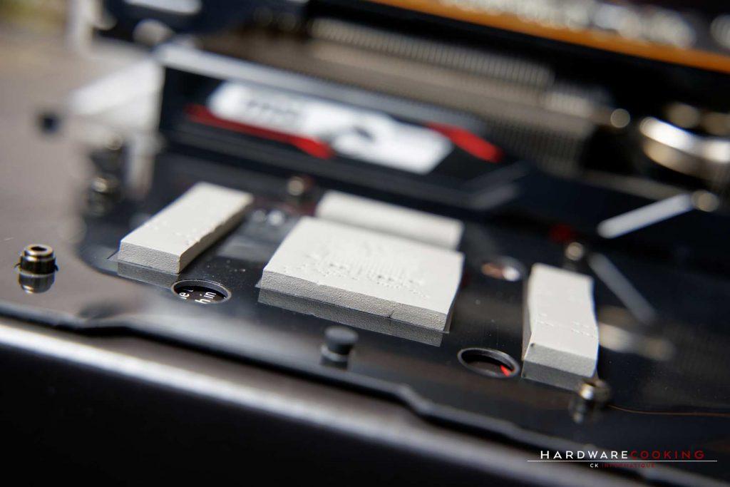pads thermique MSI RX 5700 XT