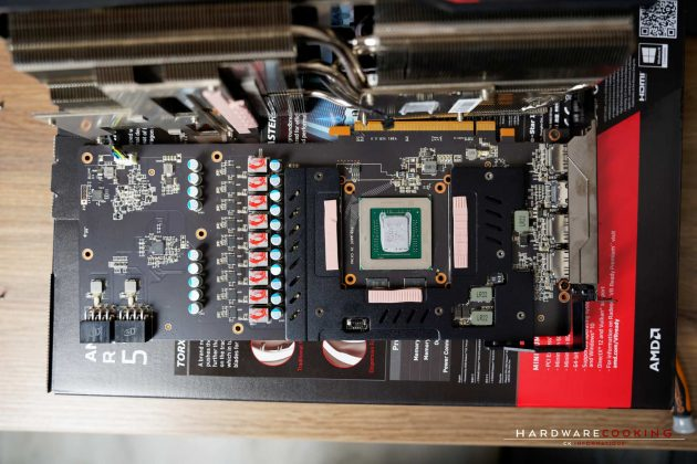 Refroidissement VRM MSI RX 5700 XT GAMING X