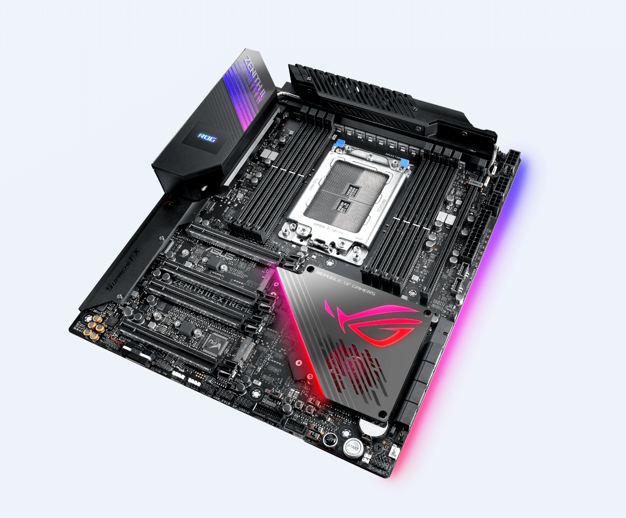Carte mère ASUS ROG Zenith II Extreme chipset AMD TRX40