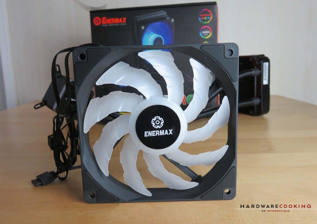 Enermax LiqMax III RGB ventilateur