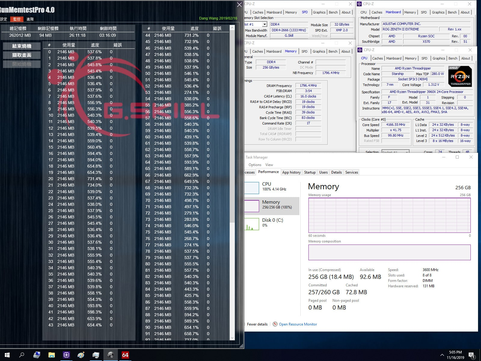 G.Skill AMD DDR4 3600 MHz CL14-15-15-35