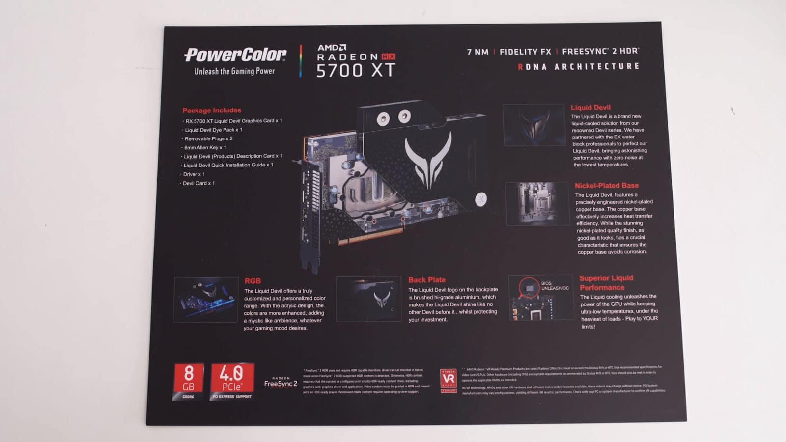 PowerColor Liquid Devil RX 5700 XT