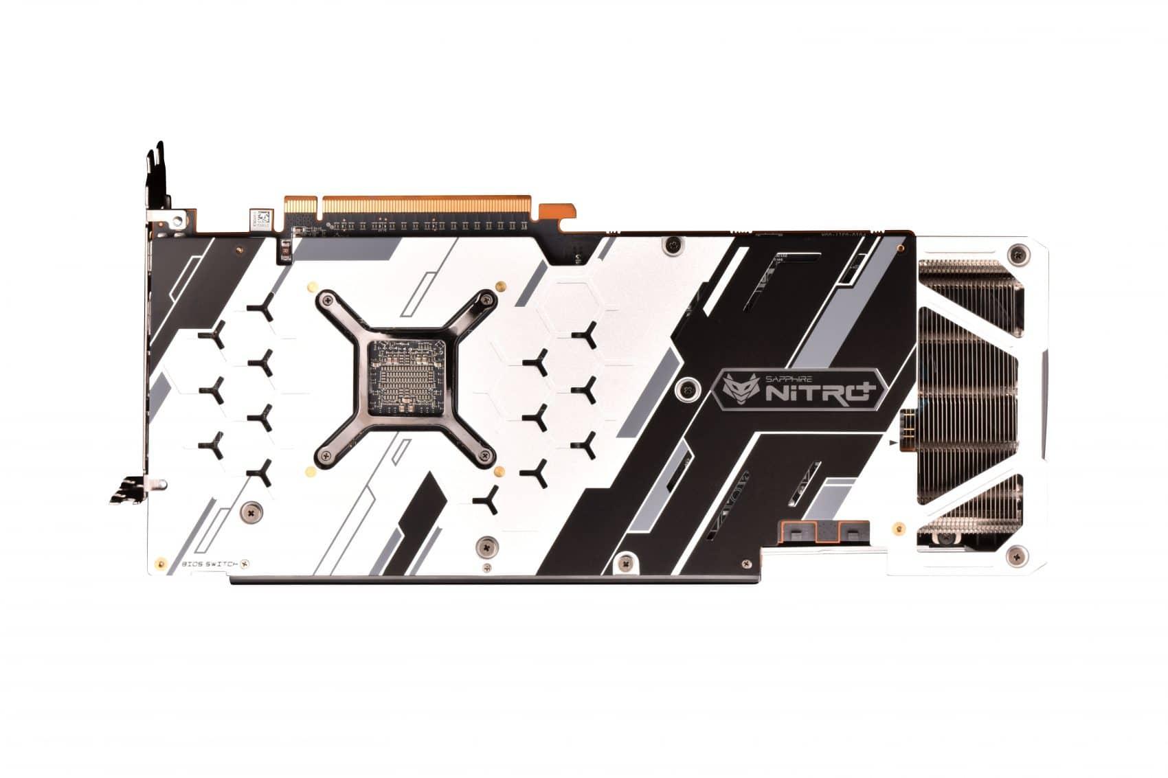 Sapphire Nitro+ RX 5700 XT SE backplate