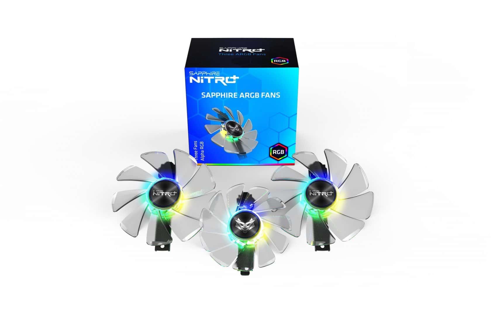ventilateurs sapphire argb 2