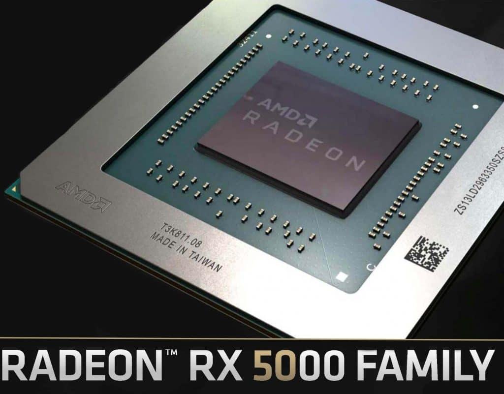 AMD Radeon RX 5000 GPU