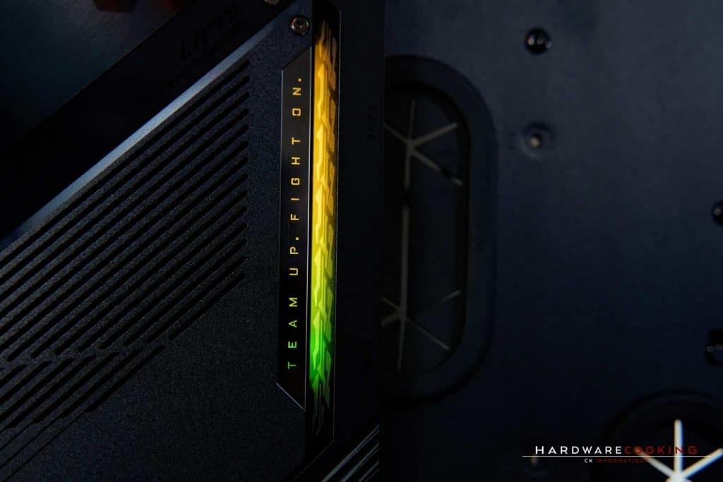 éclairage RGB TRX40 AORUS XTREME