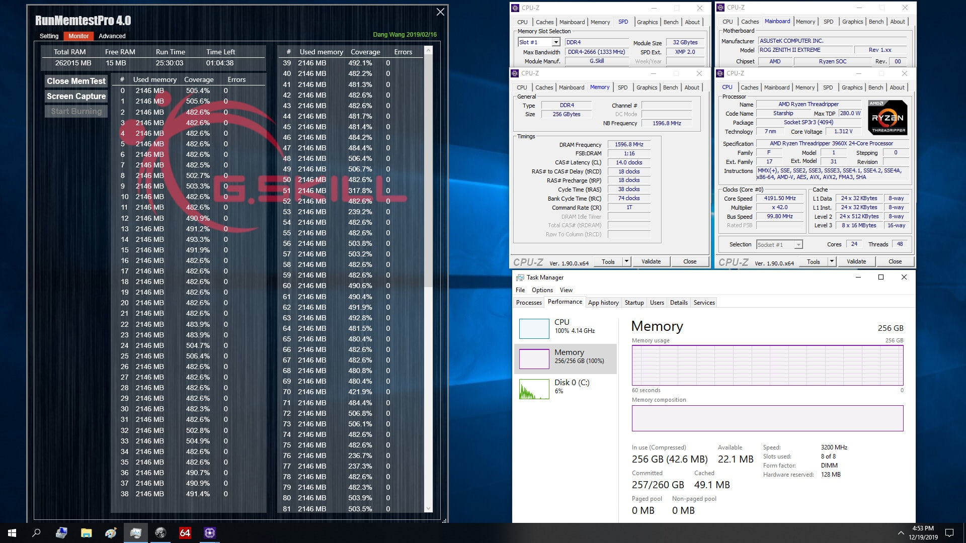 G.Skill DDR4-3200 CL14