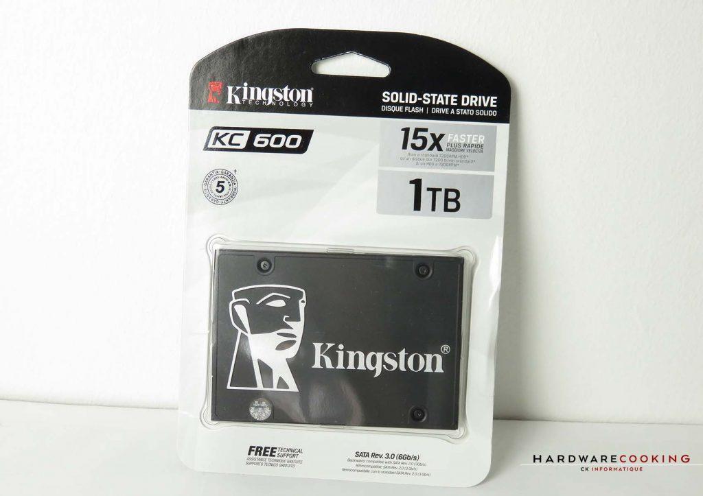 Kingston KC600 1 To emballage