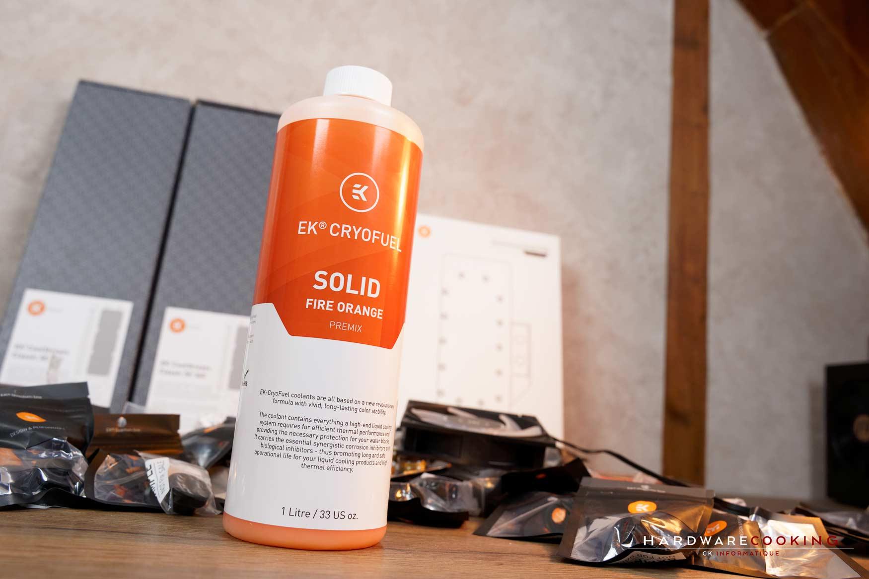 liquide EK Cryofuel Solid Fire Orange