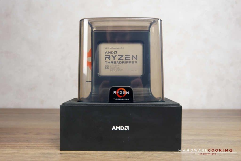 Test CPU AMD Ryzen Threadripper 3960X