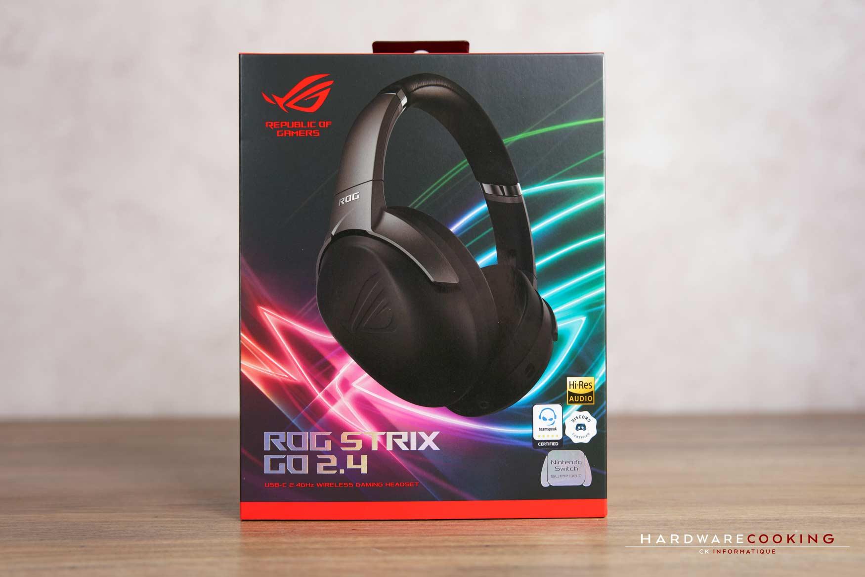 Test : casque ASUS ROG Strix Go 2.4, une réduction de bruit