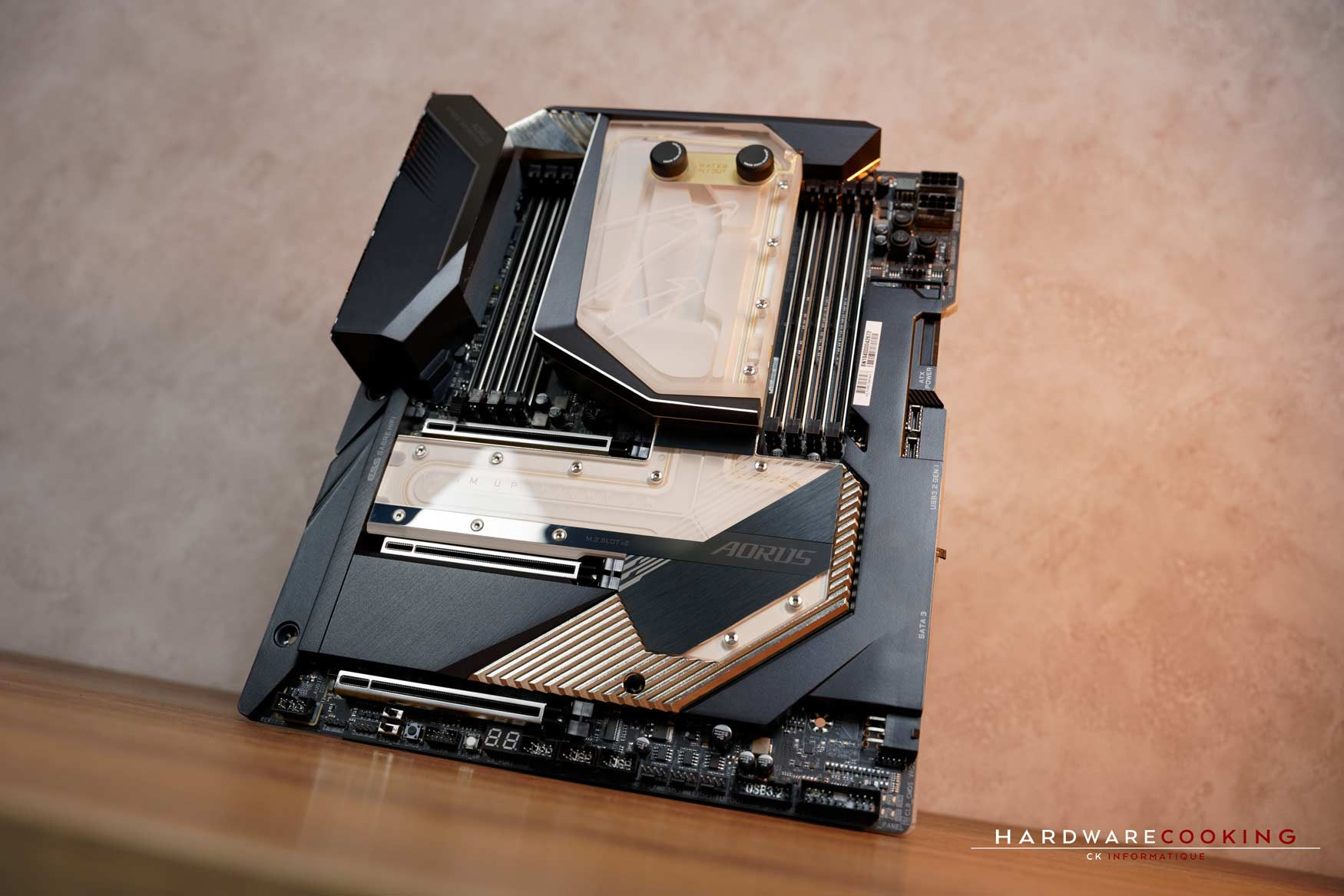 Test carte mère GIGABYTE X299X AORUS XTREME WATERFORCE