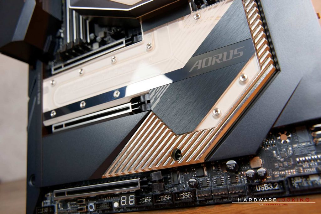 test X299X AORUS XTREME WATERFORCE