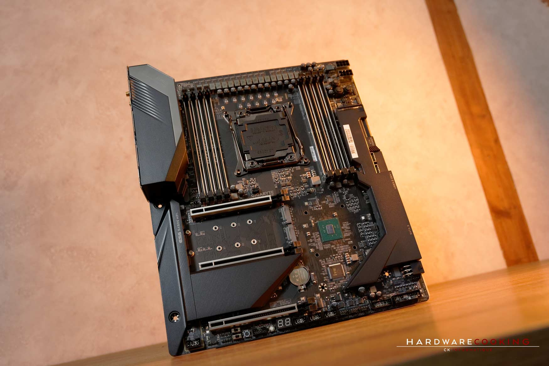 carte mère X299X AORUS XTREME WATERFORCE sans manoblock
