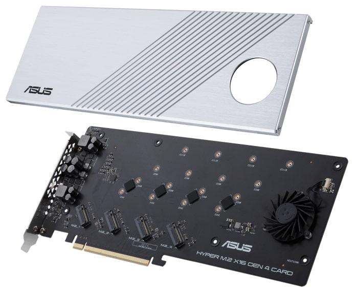 ASUS Hyper M.2 X16 Gen 4