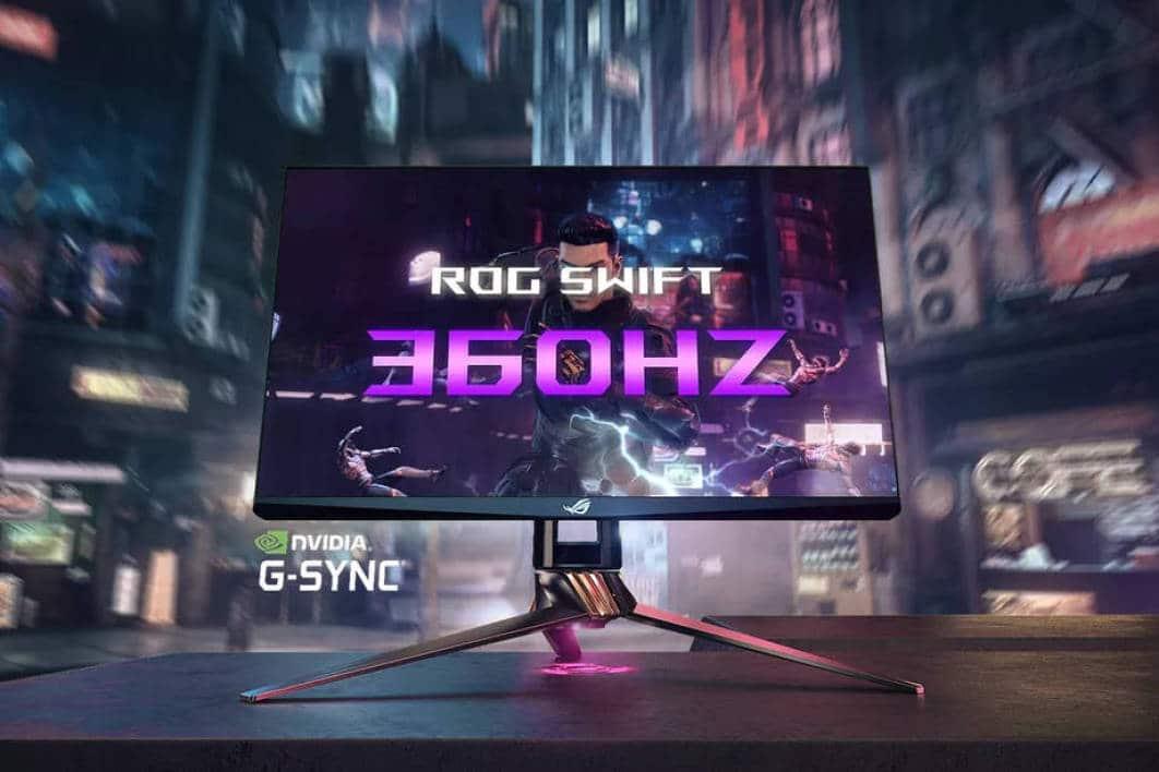 écran ASUS Rog Swift 360hz