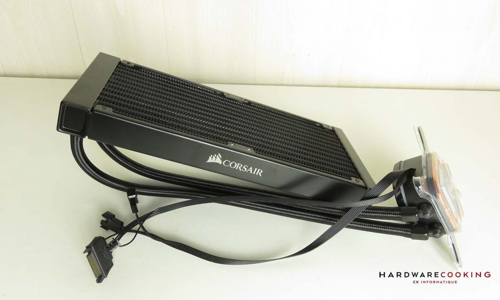 Test Corsair iCUE H100i RGB Pro XT radiateur
