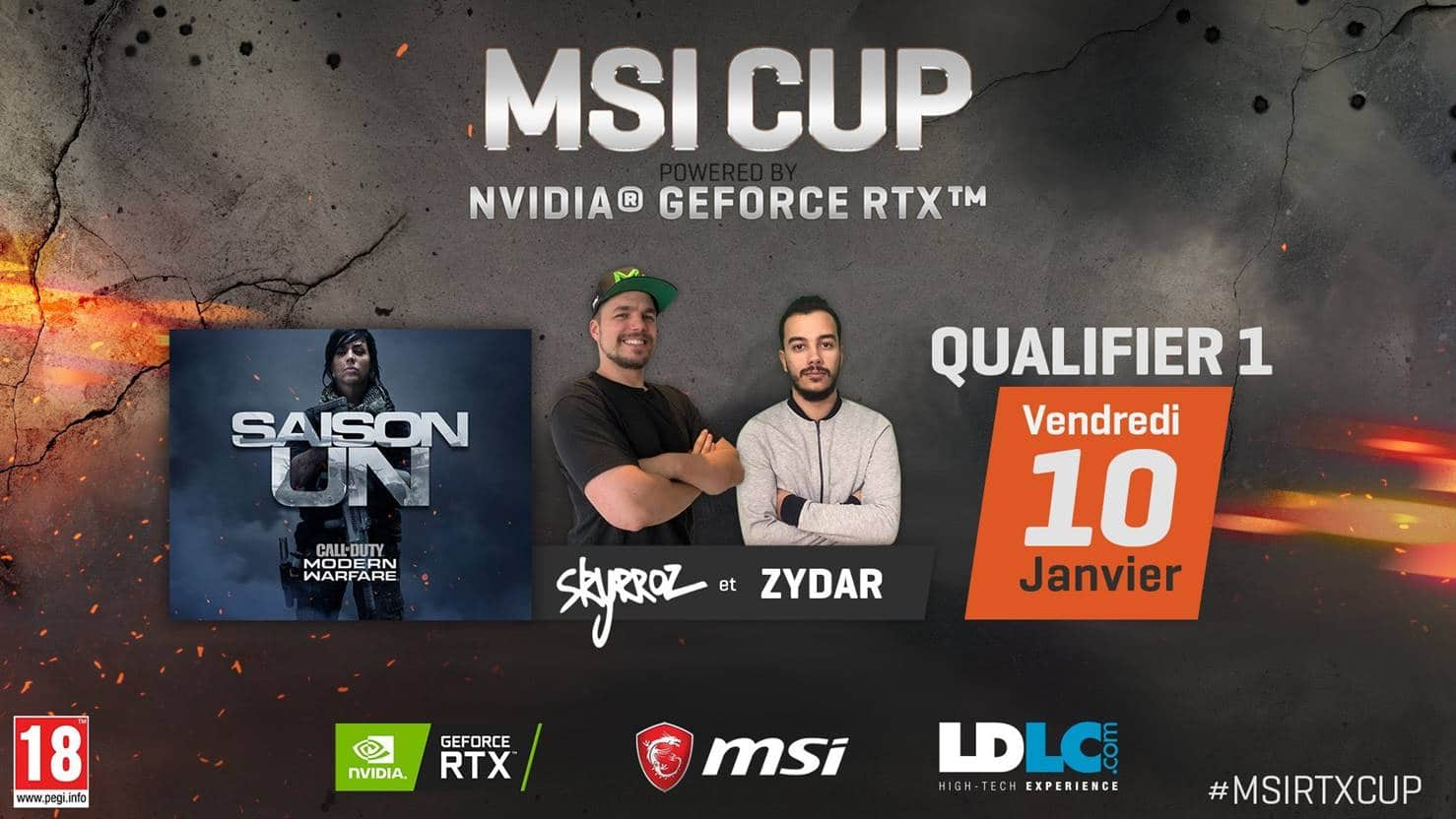 MSI CUP powered by NVIDIA Geforce RTX
