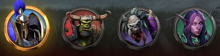 Races disponible Warcraft 3: Reforged