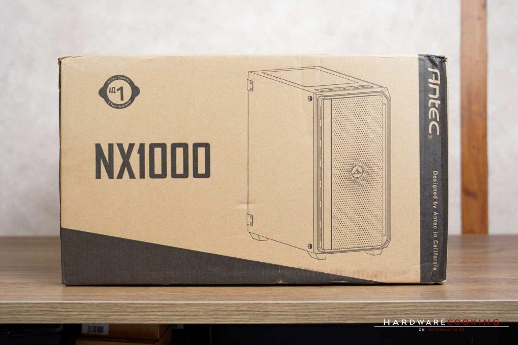 Carton boîtier ANTEC NX1000