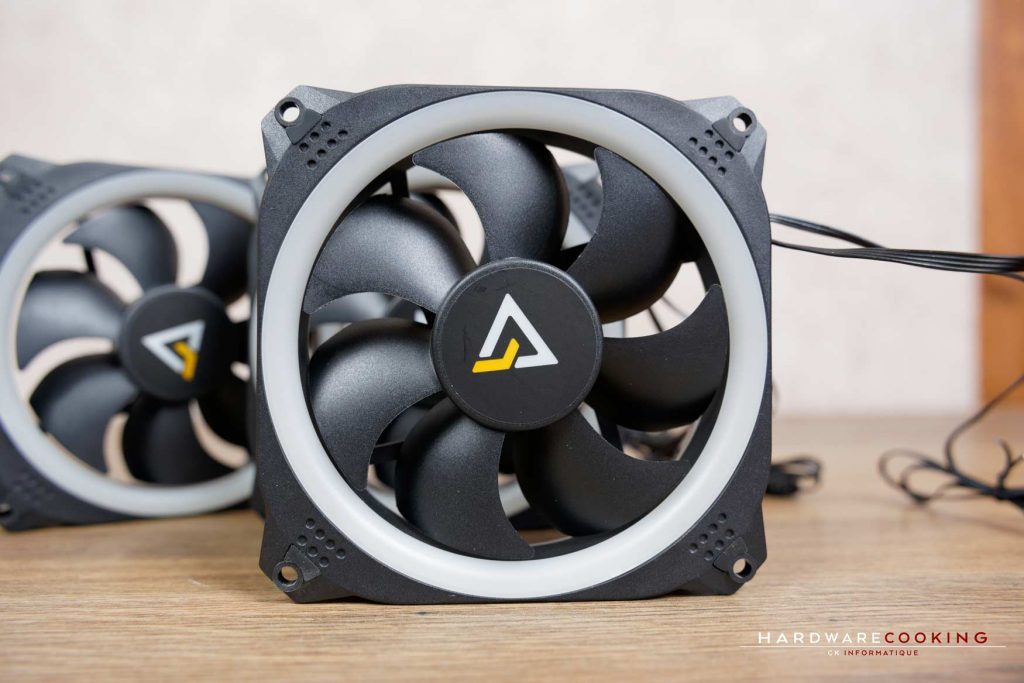 Test ventilateurs ANTEC PRIZM 120 ARGB