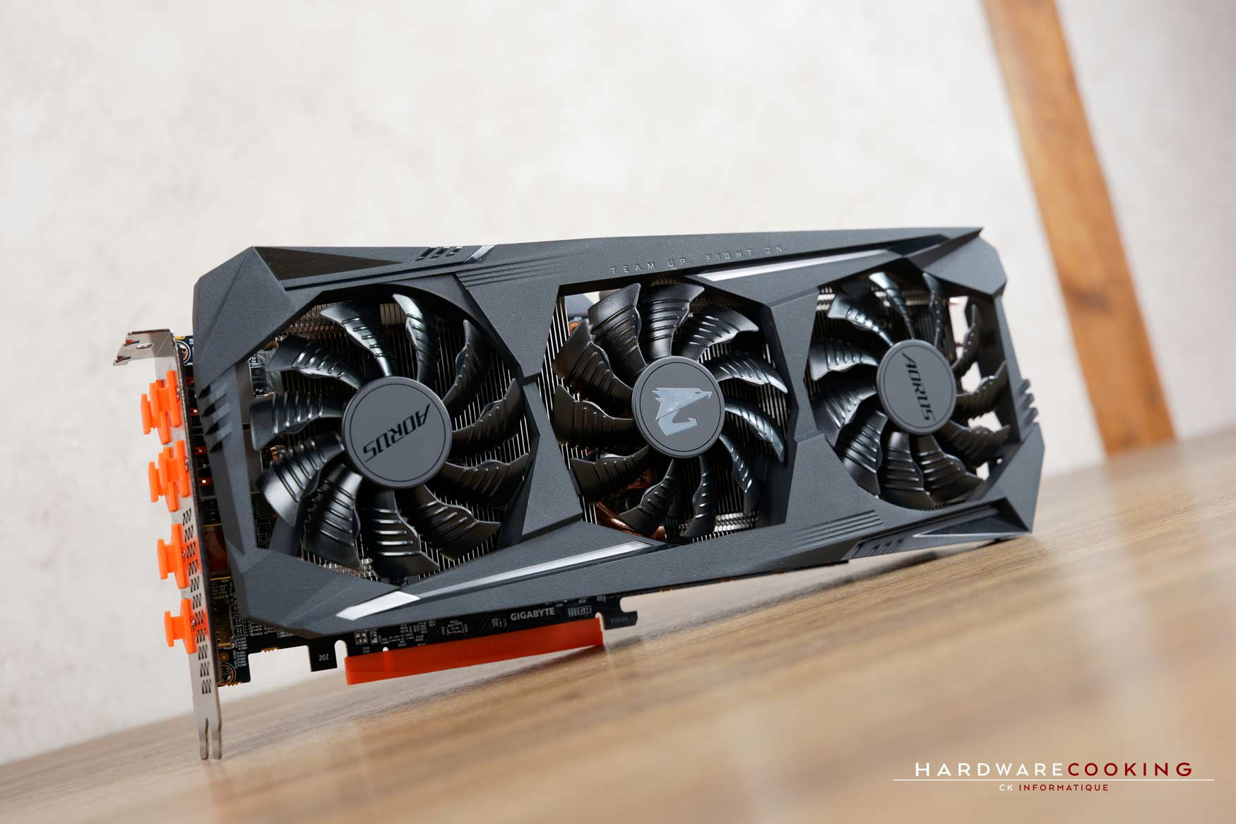Test carte graphique AORUS RX 5700 XT 8G