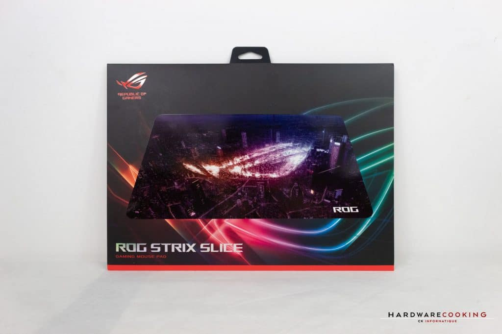 Test Tapis ROG Strix Slice