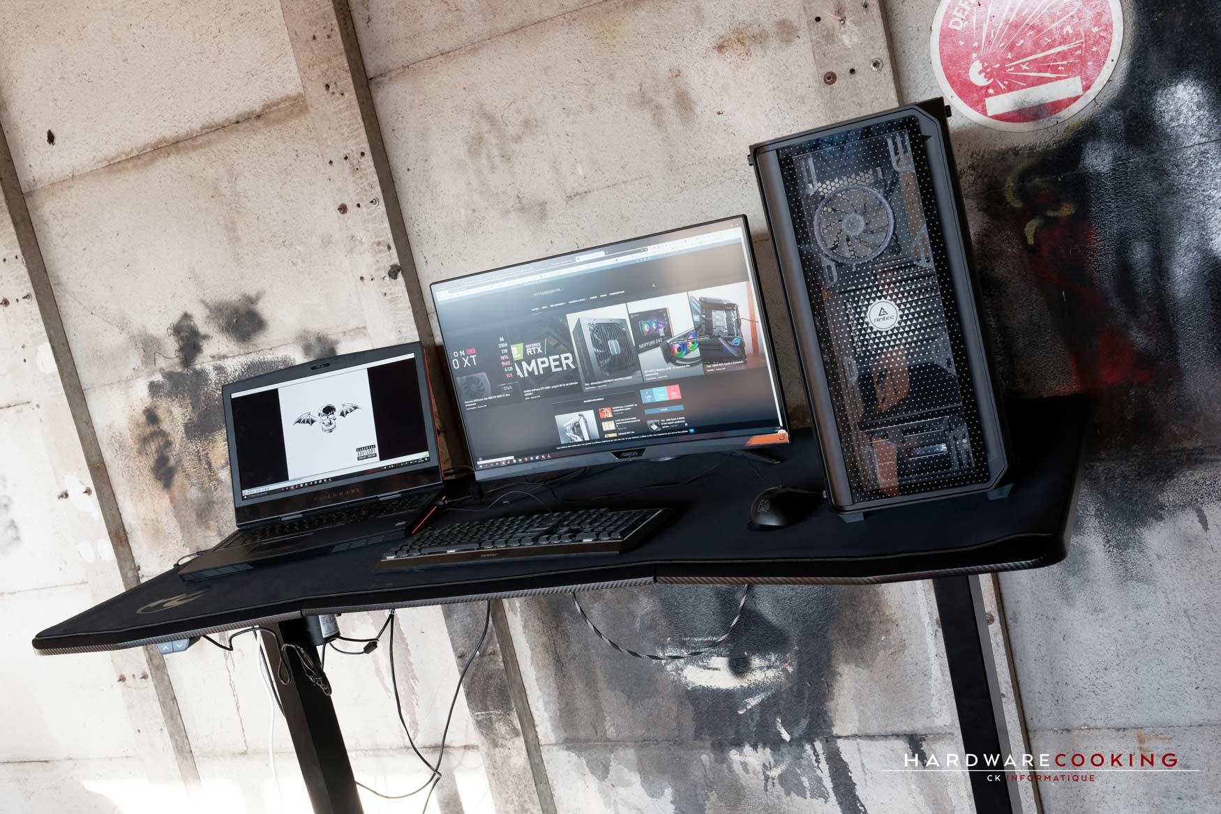 setup bureau Nitro Concepts D16E