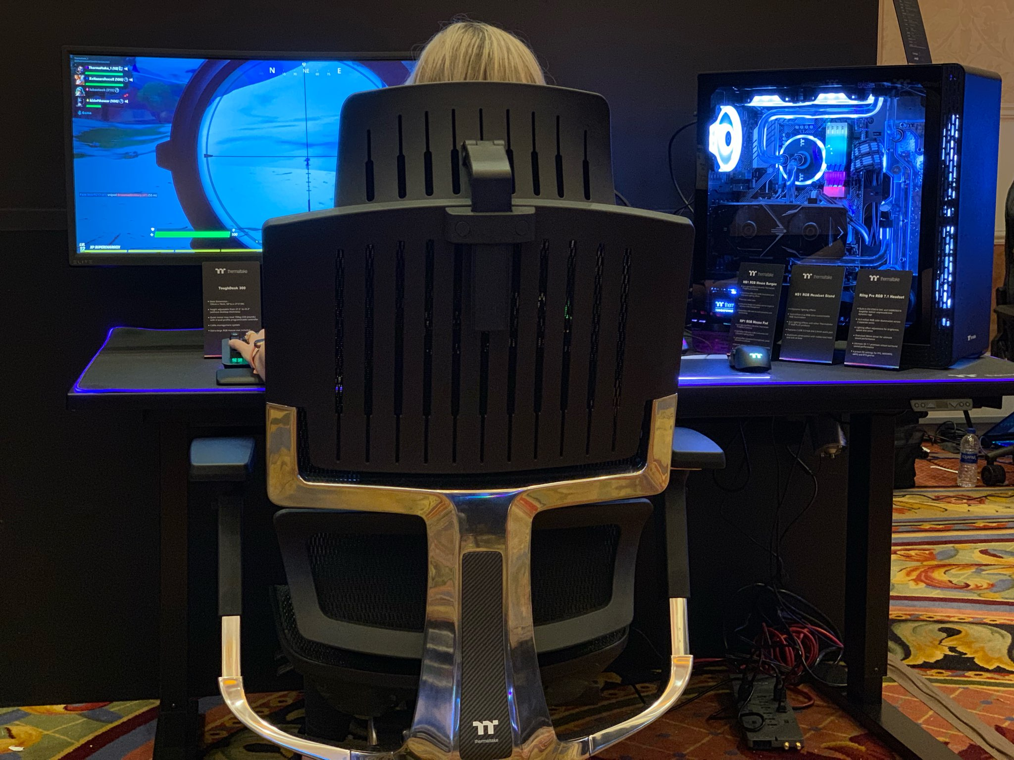 fauteuil Thermaltake CyberChair E500
