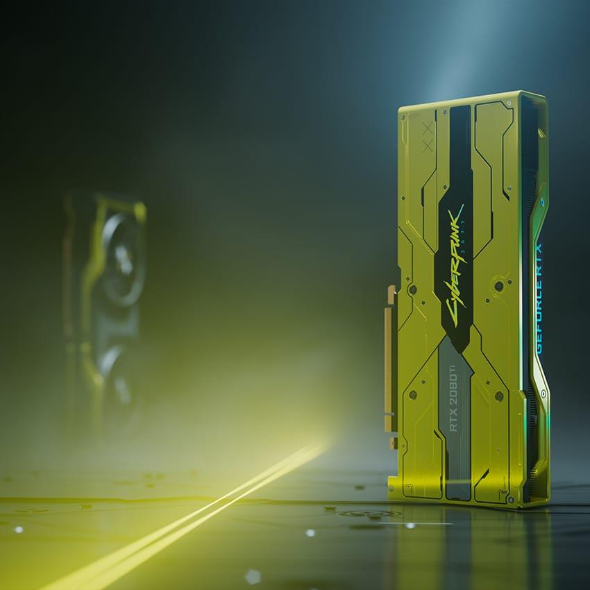 NVIDIA GeForce RTX 2080 Ti Edition Cyberpunk 2077