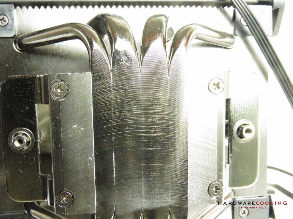 Corsair A500 détail coldplate