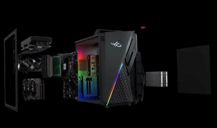 PC ASUS ROG Strix GA35-G35DX