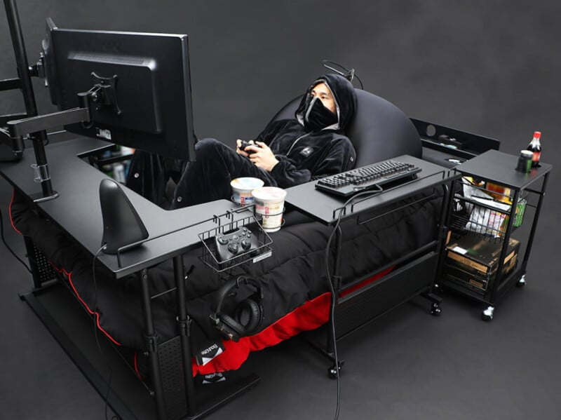 Bauhütte Gaming Bed