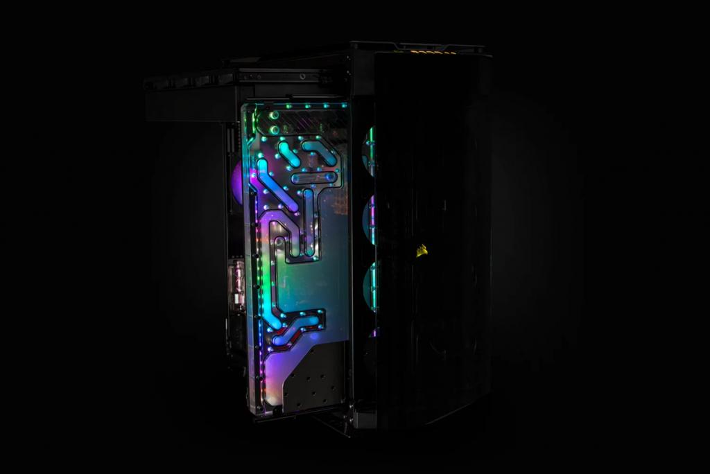 Dsitroplate EK-Quantum Reflection Obsidian 1000D D5 PWM D-RGB